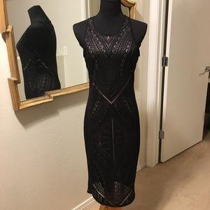 Art Deco Cutout Dress